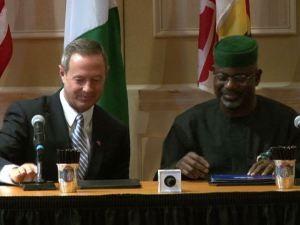 Memorandum of Understanding- Cross River State, Nigeria - Maryland Sister States